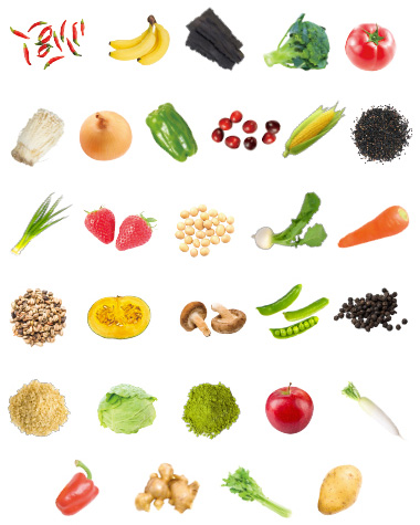 30種類の野菜と果物から抽出した55種類のファイトケミカルを凝縮