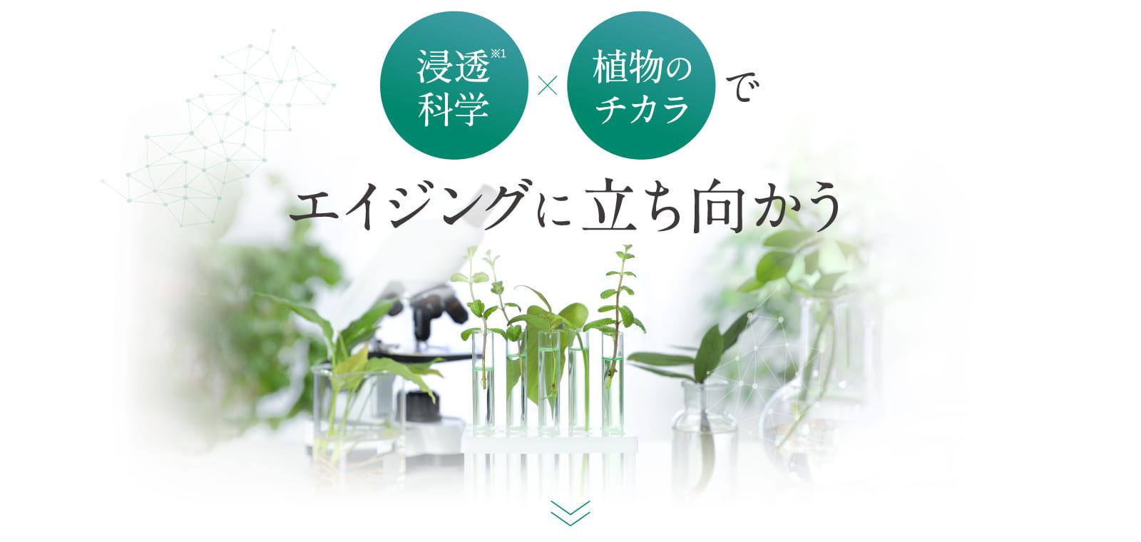 浸透科学×植物のチカラでエイジングに立ち向かう