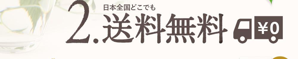 2.通常価格270円(税込)のところを日本全国どこでも送料無料