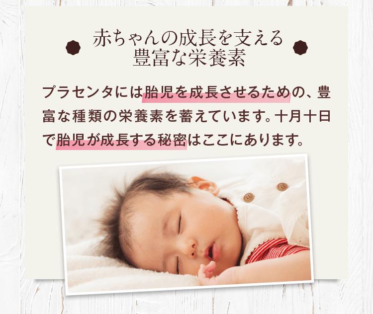 赤ちゃんの成長を支える豊富な栄養素