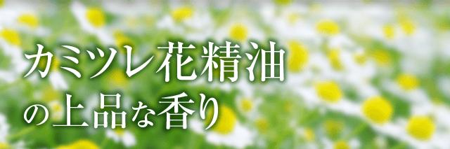カミツレ花精油の上品な香り