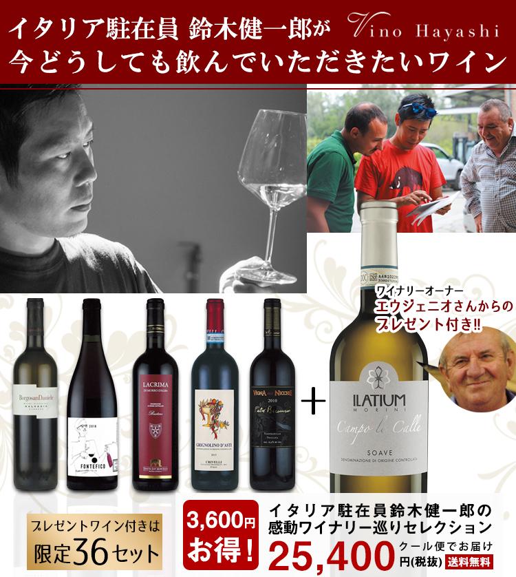 プレゼントワイン付き6本セット 創業10年記念ロングセラーワイン6本(送料無料・クール便でお届け)