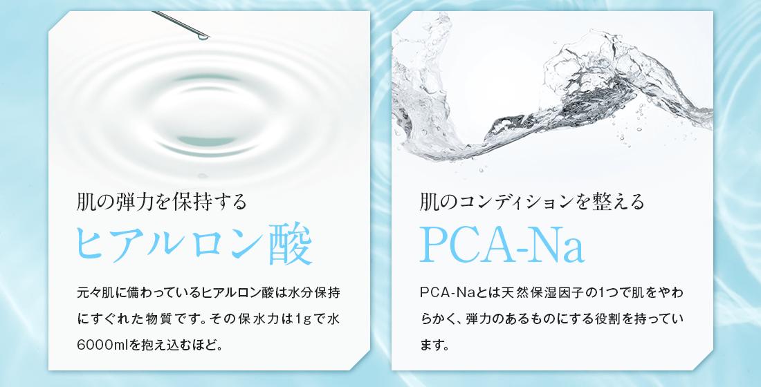 ヒアルロン酸・PCA-Na