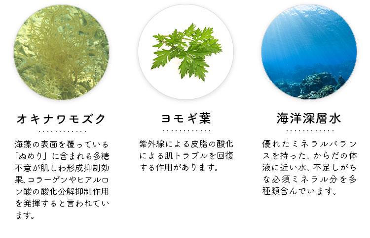 オキナワモズク ヨモギ葉 海洋深層水