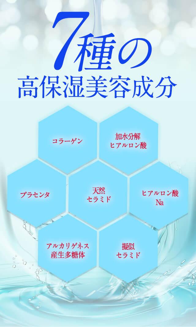 7種の高保湿美容成分