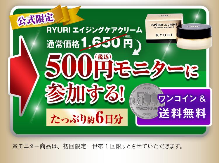 500円モニターに参加する