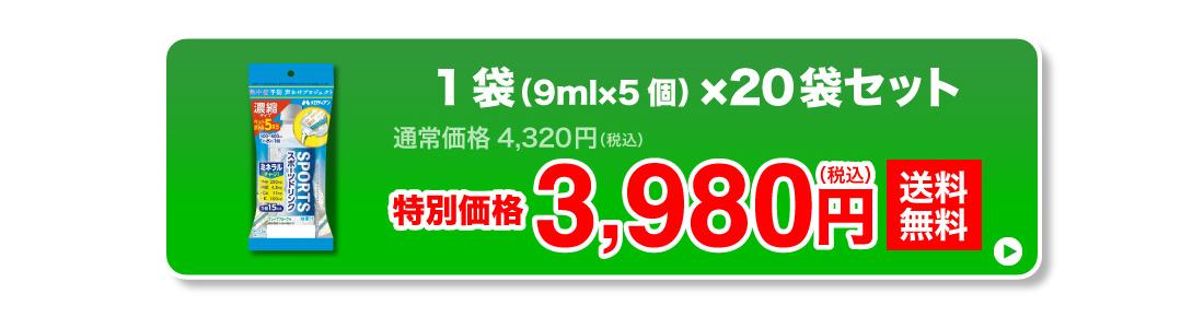 特別価格3,980円(税込)送料無料