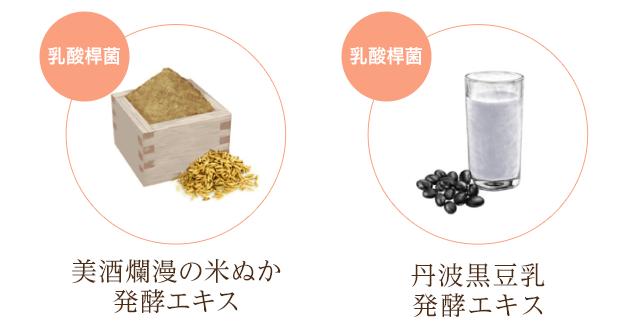 美酒爛漫の米ぬか発酵エキス 丹波黒豆乳発酵エキス